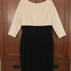 London Times Dress Shimmer Cocktail Dress Size 12